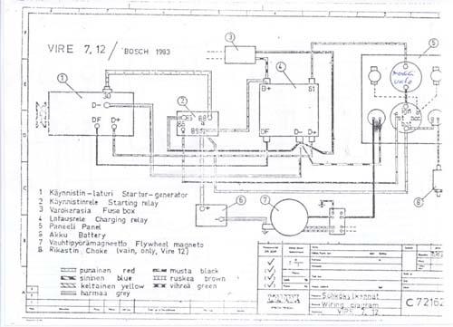 vire 7 starter generator circuit diagrams 12 volt voltage regulator wiring